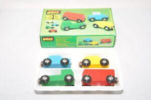 Brio-MINICARS-33320-Original-box-VGUC-Rare-retired-BRIO-from-1980s