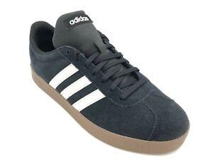 Adidas-Vl-Court-Adidas-in-camoscio-Scarpa-da-uomo-in-camoscio-Adidas-da-uomo