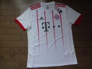 premium selection 14e57 76cd0 Details about Bayern Munich Munchen 100% Original Jersey 2017/2018 Away  M(Japanese O) BNWT NEW