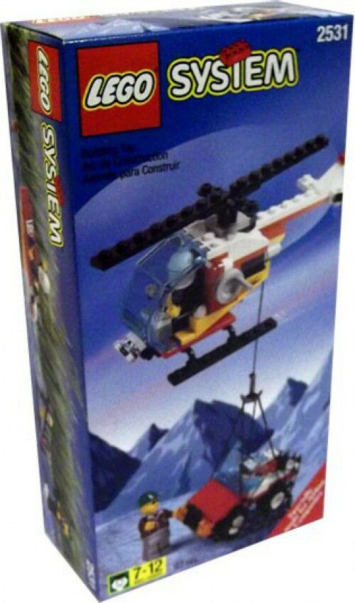 LEGO System Rescue Helicopter Set