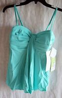 Womens Swimsuit Fit4you Tummy Control Size 8, Bermuda