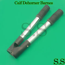 Calf Dehorner Barnes 13 Steel Rubber Handle Veterinary Farming Tool New