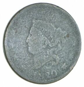 Better-1820-Matron-Head-US-Large-Cent-Penny-Coin-Collection-Lot-Set-Break-409