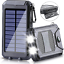 thumbnail 13 - 2000000mAh-Solar-Power-Bank-LED-Dual-USB-Backup-Battery-Charger-Fr-Mobile-Phone