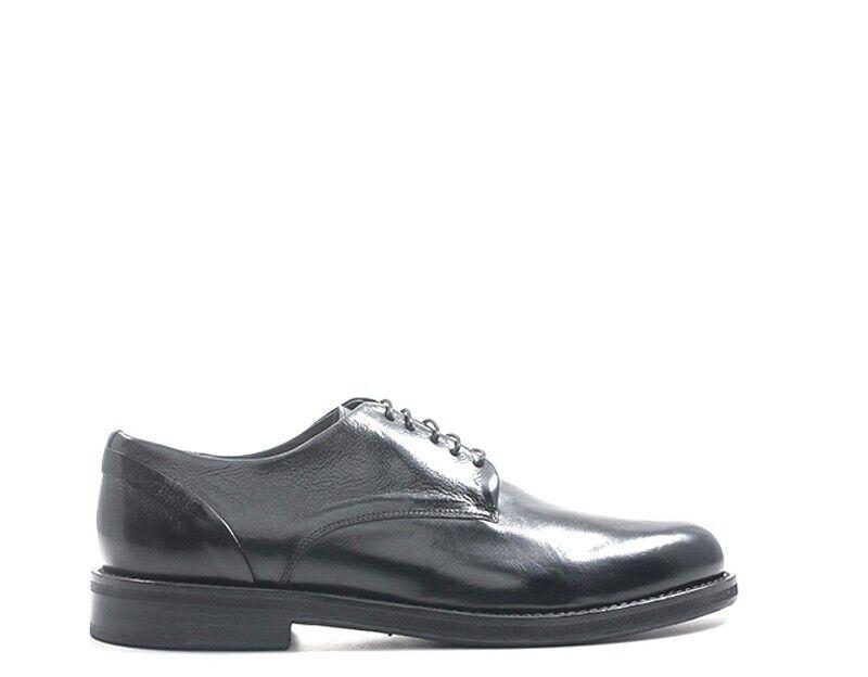 Schuhe DELAVE& 039; Mann schwarz Brogue,Naturleder 120252701DIV-NE