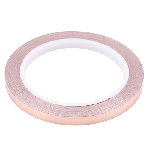 0.5//0.6//0.8//1 cm Copper Foil Tape Conductive Self Adhesive Heat Insulation