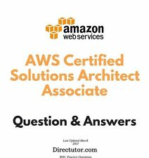 Amazon AWS Certified Solutions Architect Associate Exam - 800+ Q&A