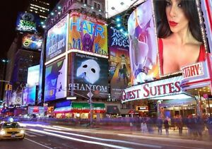 Image Is Loading Personalised Own Picture Photo New York Times Square