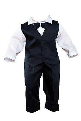 Babyanzug 5-tlg Jungen Anzug Baby Anzug in verschiedenen Farben Gr 62 bis 92