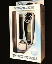 New Wireless Nunchuck for Nintendo Wii / Wii U - Black/White
