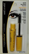 Wet N Wild Mega Volume Mascara Fuller Thicker Enhancing Effect VERY BLACK C647B
