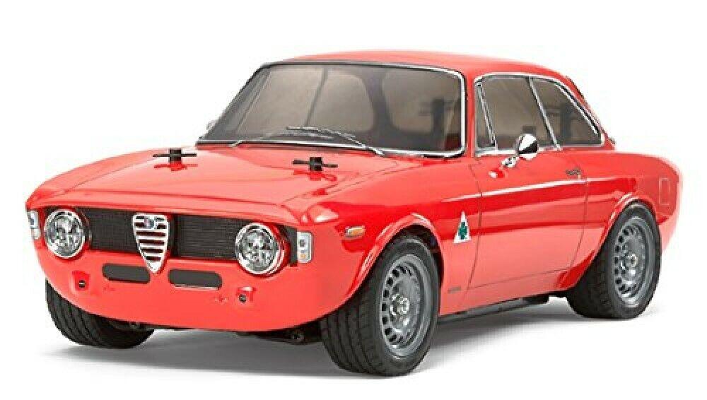solo per te Nuovo Tamiya 1 10 RC auto Series No.486 No.486 No.486 Alfa Romeo Giulia Sprint GTA M-06 Kit 58486  outlet in vendita