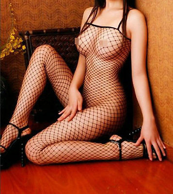 Hot Sexy Kinky Lingerie Body Stocking Fishnet Open Crotch S M L Aus Seller!