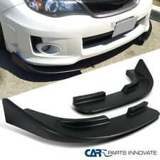 Front Body Upgrade Bumper Lip Spoiler Canard Splitters Flippers Lr Fits Toyota Supra