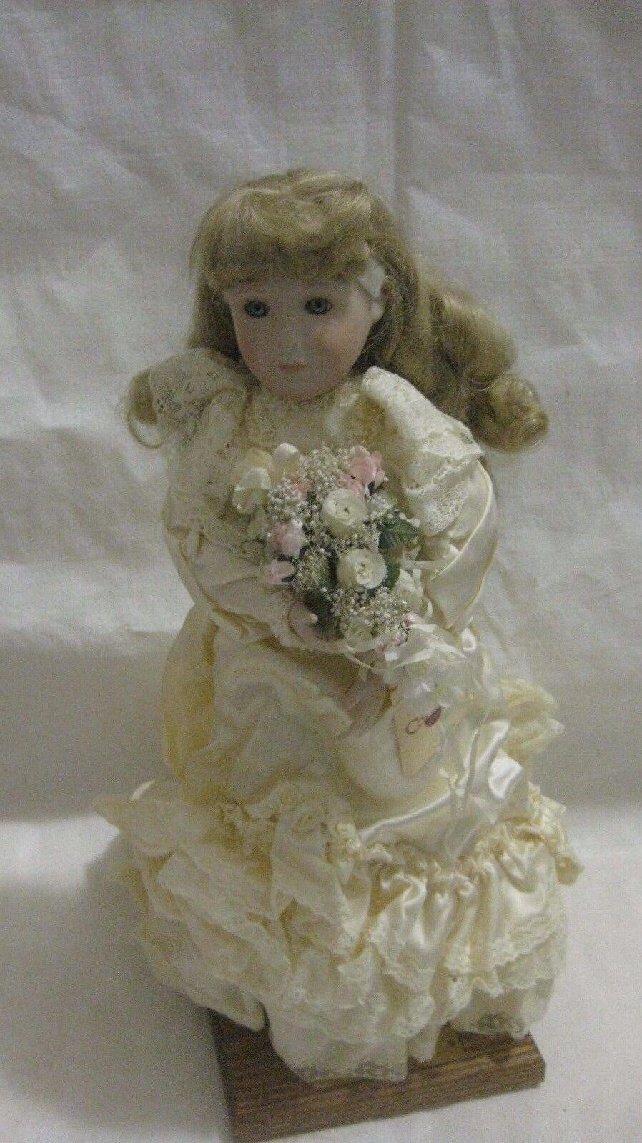 Seltener Porzellan-Puppe Jennifer Viktorianisch Bride  432 Of 1,000 From The