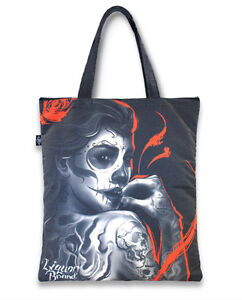 Liquor Brand - Rockabilly Shopper Tasche - Ember