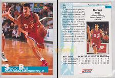 JOKER BASKET Serie A1 1994-95 - Sergio Bigi # 94 - Ottima
