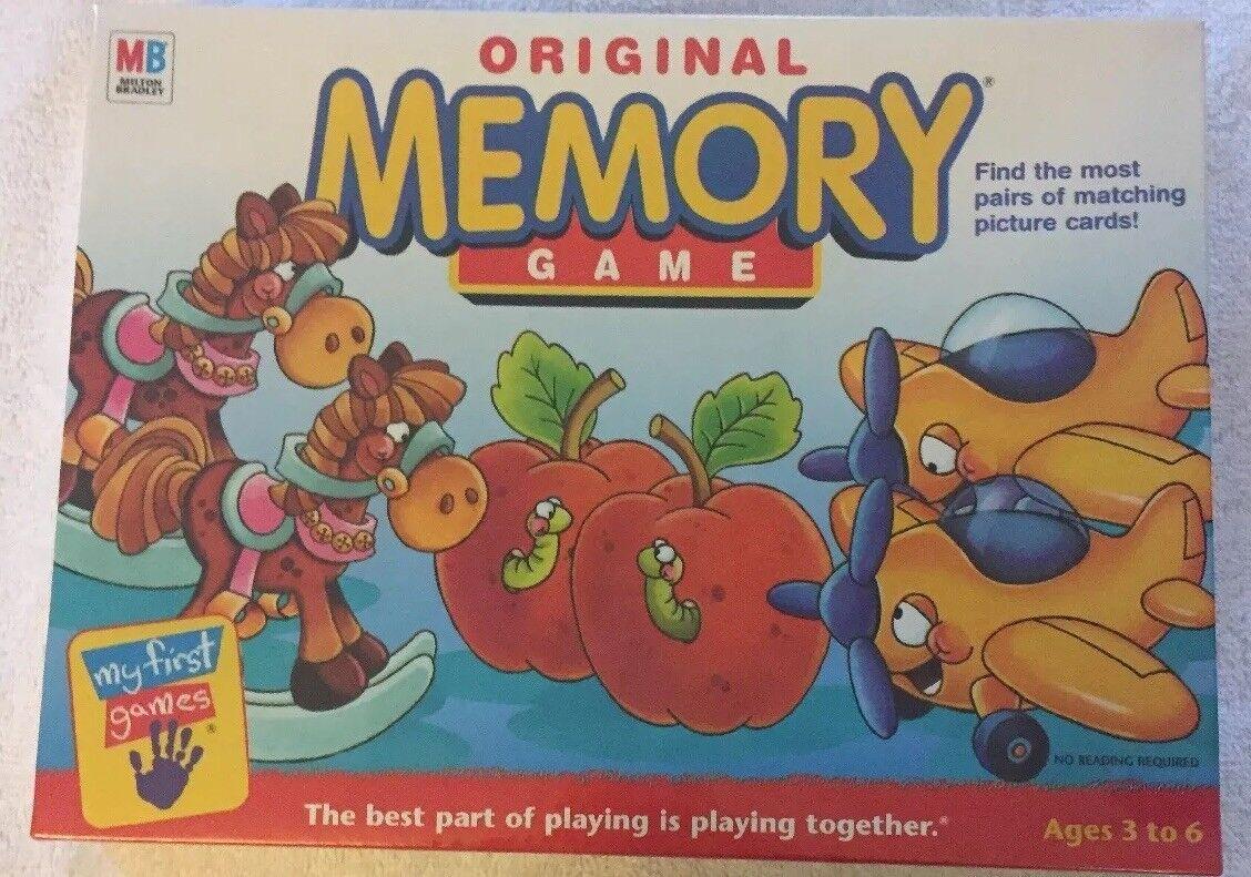 Jahrgang der original - memory - spiel von hasbro neu