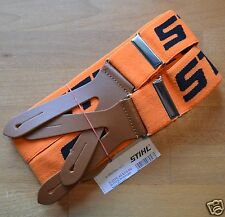 OEM Stihl MS200T MS201T Braces Orange 120cm Buttons 1511 Bike Leathers Tracked