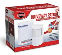 Driveway Patrol Wireless Motion Sensor Detector Alarm Infared Alert System 400ft