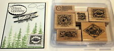 Stampin Up World Traveler set~use with Sky is the limit guy greetings lovely