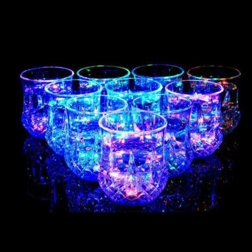 LED Flash Magic Inductive Rainbow Color Changing Cup for Party and House GA
