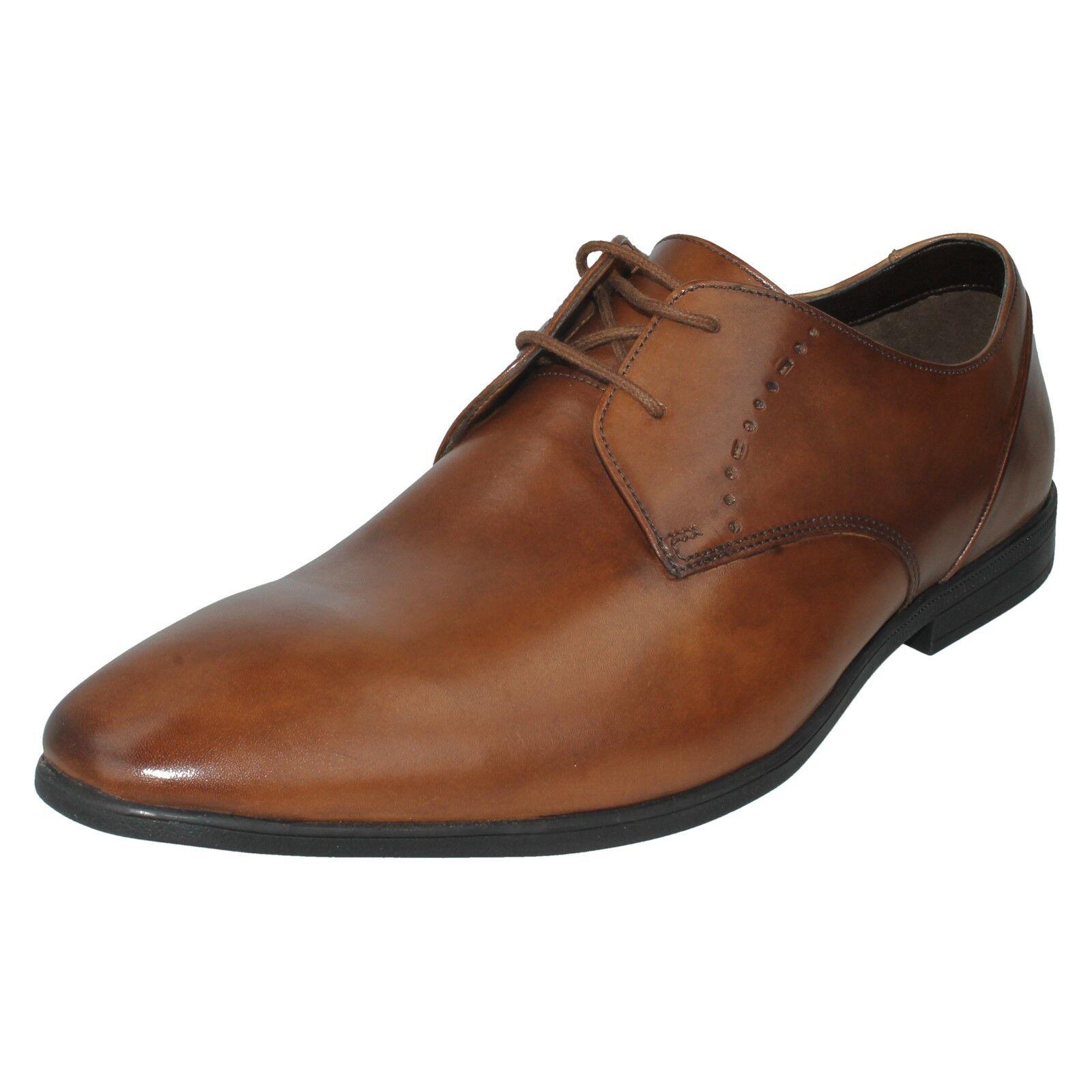 Herren Clarks Leder Spitze Zulaufend Oben Smart Zulaufend Spitze Förmliche Schuhe Größe Bampton 9da074