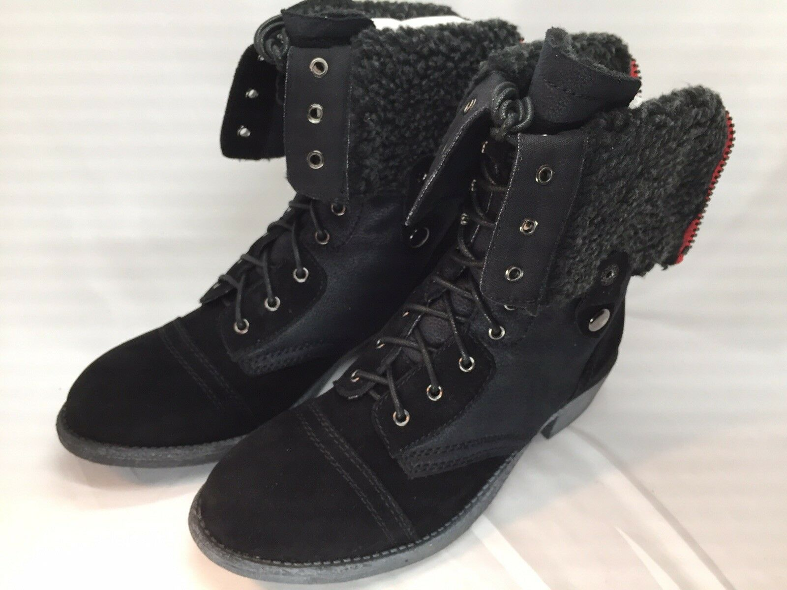 womens dressy combat boots
