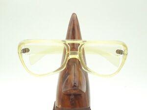 Vintage-Cool-Ray-Polaroid-Showdown-Yellow-Rectangle-Sunglasses-Frame