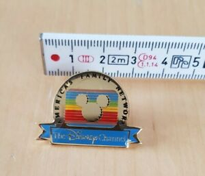 The Disney Channel - America's Family Network label Pin