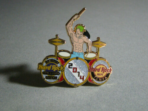 HRC/HRH HARD ROCK CAFE CASINO DRUMMER PIN LE300, TAMPA 2014 COLLECTIBLE
