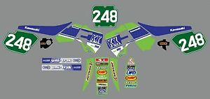 Vintage-evo-kx-250-1988-1989-factory-decal-kit-new