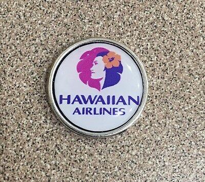 HAWAIIAN AIRLINES LAPEL TACK PIN AIRPLANE HAWAII PILOT COLLECTIBLE GIFT