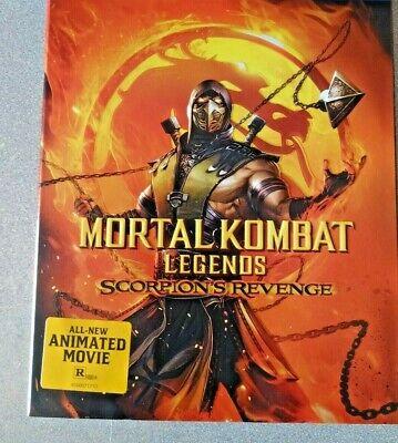 Mortal Kombat Legends Scorpion S Revenge Blu Ray No Dvd No