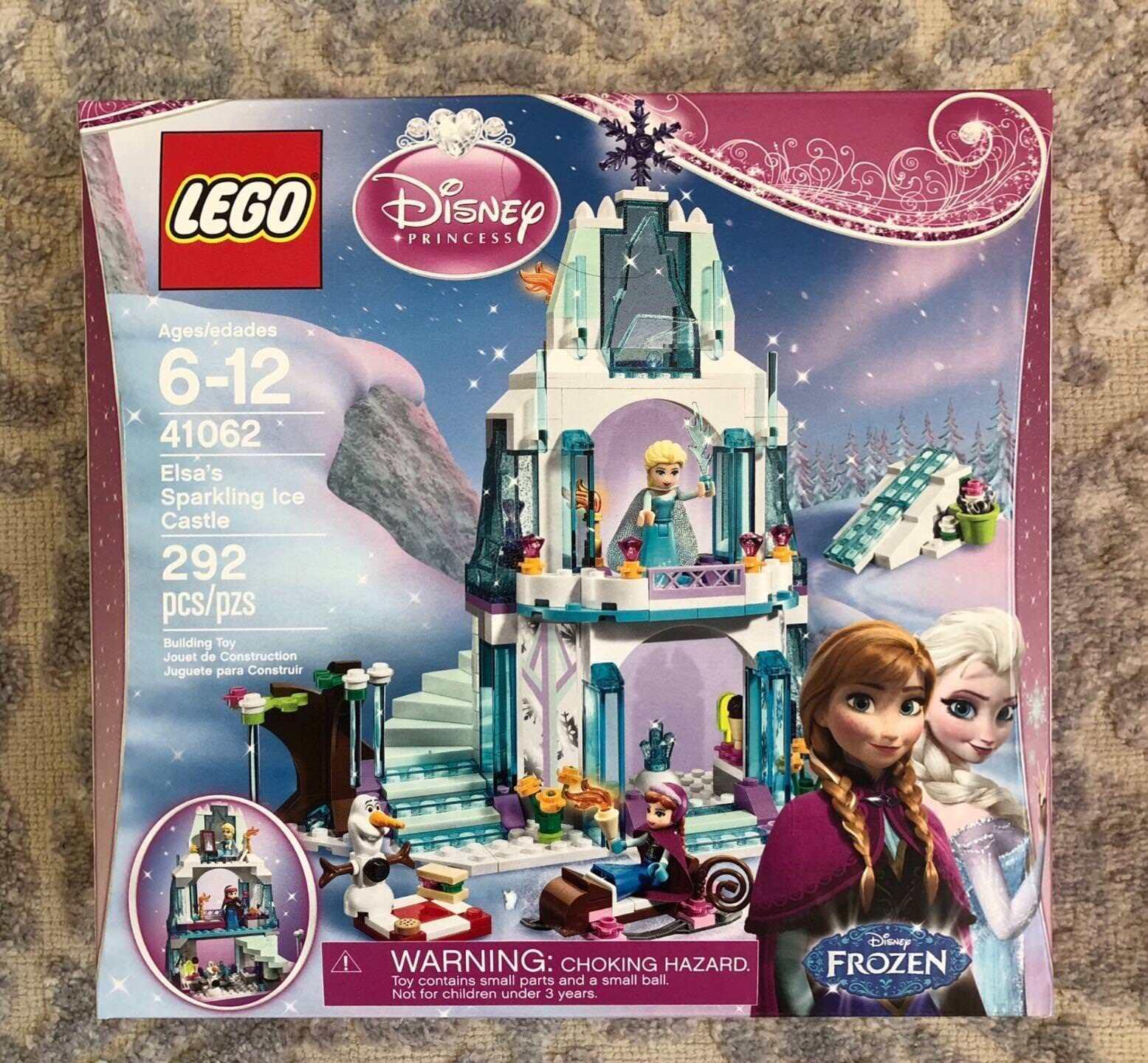 LEGO 41062 ELSA'S ELSA'S ELSA'S SPARKLING ICE CASTLE/ MIB sealed/ 292 pieces /RETIrosso 51358c