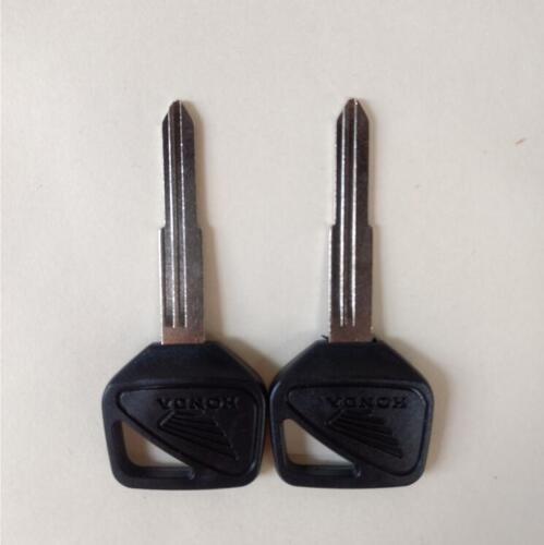 5PC Black Motorcycle Blank Key for Honda CB400//1300 VTEC CBR600RR//1000RR VTR1000