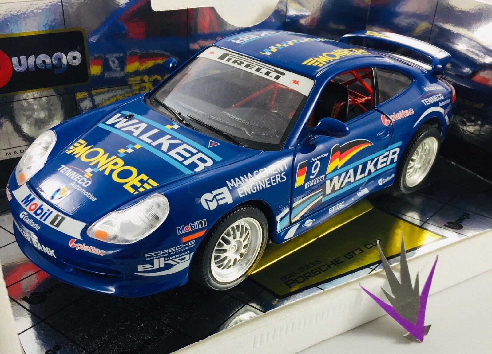 Bburago Porsche GT3 Cup 1 18 with box