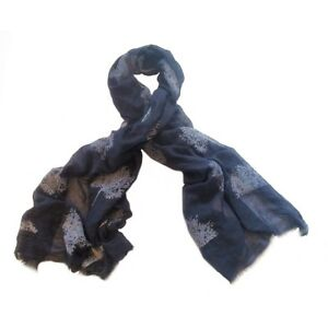 Navy-Blue-Tree-of-Life-Scarf-Mulberry-Trees-Ladies-Scarves-Wrap-Women-Scarfs-New