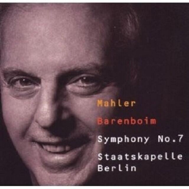 BARENBOIM/STAATSKAPELLE BERLIN - SINFONIE 7  CD KLASSIK ORCHESTER NEU MAHLER