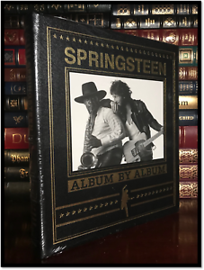 Bruce-Springsteen-Albums-Sealed-Easton-Press-Leather-Bound-Coffee-Table-Hardback
