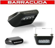 LTC1 LUCE TARGA 4 LED LEDS NERA UNIVERSALE OMOLOGATA BETA Jonathan 350