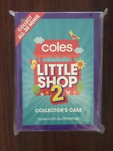 Coles Little Shop 2 Collectors Folder NEW