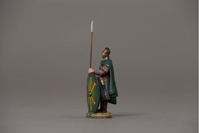 Thomas Gunn rombyz 001B-Bizantina GUARDSMAN SCUDO (verde) dipinto figura metallo