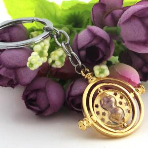 NEW-Harry-Potter-Time-Turner-Hermione-Granger-Rotating-keychain-keyring-Gift