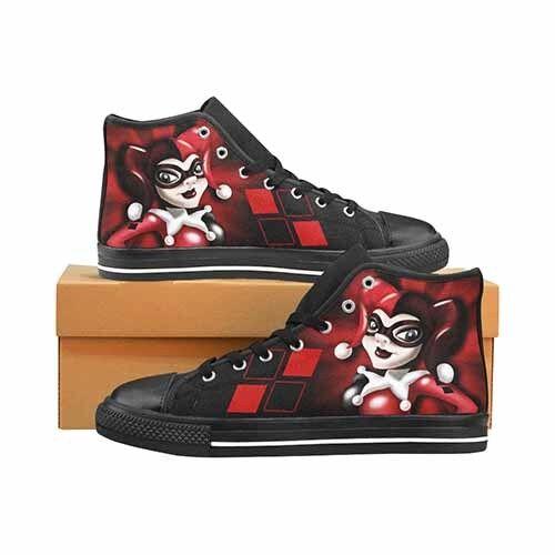 Harley Quinn Batman DC LADIES Classic High Top Canvas Schuhes