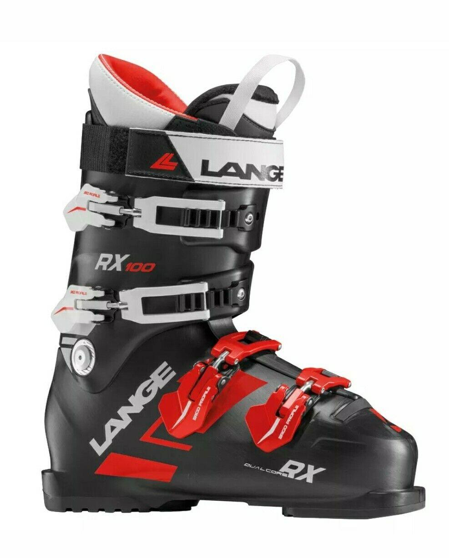 2019 Lange RX 100 Ski stivali  LB2100 306 mm - 265 Doppia linea 3D Sport