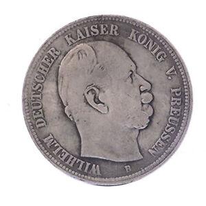COPIA-moneta-collezione-Germania-5-marchi-1876-Guglielmo-II-aquila-imperiale