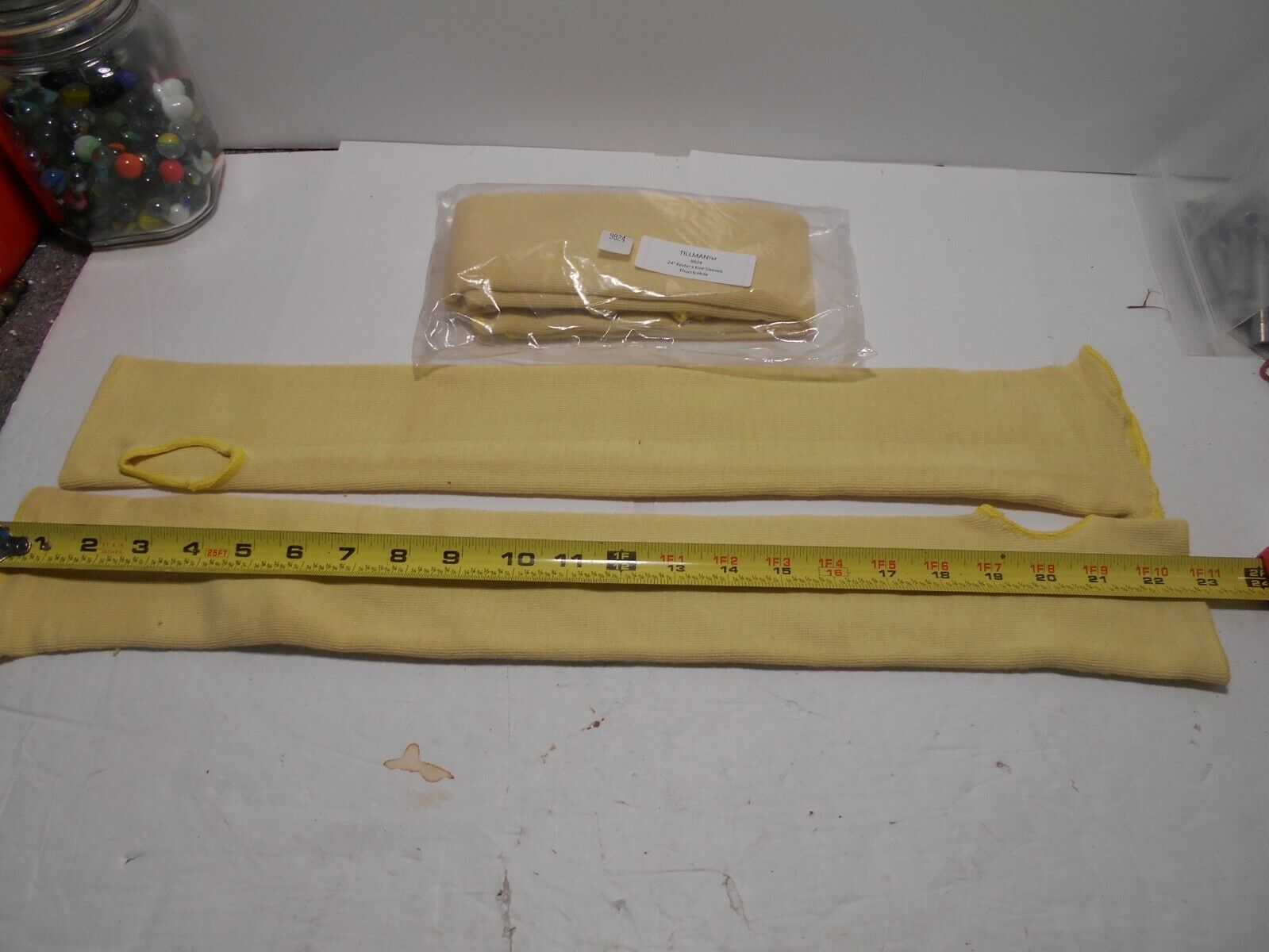 Tillman 9824 24 Double Ply 100/% Kevlar Knit Sleeves With Thumb Slot
