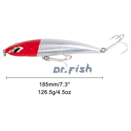 Dr.Fish Salttwater Tuna GT Hardbait Ocean Stickbait Pencil Plug 185mm