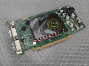 256MB Dell WH242 nVidia Quadro FX 3500 PCI-e Dual Head DVI / Vid-O